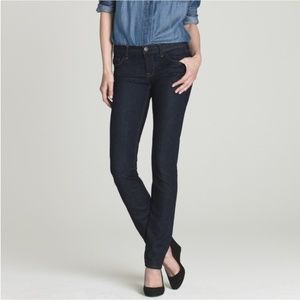 J. Crew Matchstick Skinny Straight Dark Wash Jeans